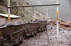석탄을 운반하는 탄차