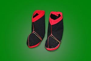 공주 생활사 온라인 박물관, 상서리 마을회관 소장품 (신랑 혼례 신발)