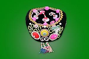 공주아리랑-혼구 족두리(신부의 모자)