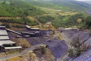 우리나라의 석탄 매장량