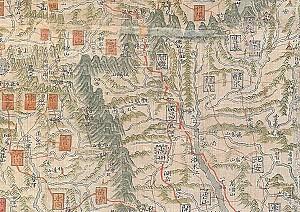 경상도 문경의 유곡역을 중심으로 형성된 유곡도(幽谷道)