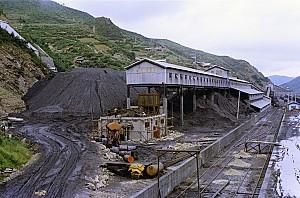 탄광 운영 현황과 석탄 생산량