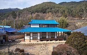 풍수지리가 낳은 2층집 - 진안 강정리 근대 한옥