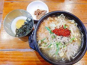 모주(母酒) 한 잔을 곁들여 먹는 남도 술꾼들의 해장음식, 전주 콩나물국밥