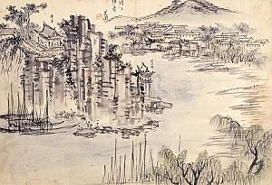 김석신의 그림에 보이는 안평대군의 풍류 정자, 서울 담담정