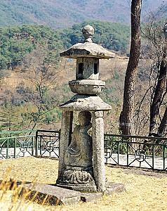 부처님의 모습을 닮은 사자, 화엄사 사사자석탑