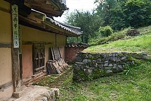 튼실한 목재를 사용한 영월 창원리 고택