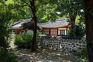 소나무의 절개와 절벽의 굳센 기상을 간직한, 대전 송애당
