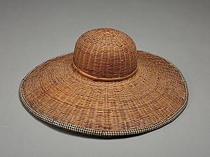 대나무를 엮어 만든 모자, 패랭이