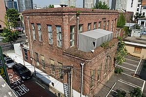 제국의 의료는 첨단이었으나…, 서울 구 용산철도병원 본관