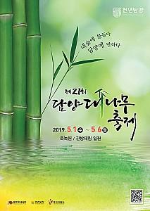 5월의 푸른 대나무숲에서 펼쳐지는 '담양대나무축제'