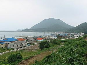 조기파시로 유명했던 전라북도 부안군 위도면 파시촌