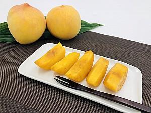 맛이 좋아 천상의 과일로 알려진 복숭아
