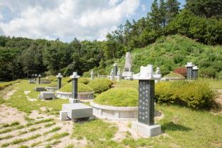 양평출신 의병장들의 묘역