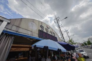 광주·전남 시장 가운데 가장 많은 상점이 있는 양동시장