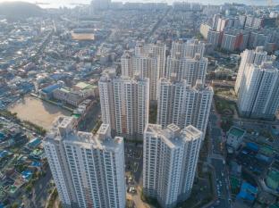 목포시 대성동 피난민촌