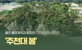 울진 불영계곡과 왕피천 디지털 문화 콘텐츠 '주천대 봄'